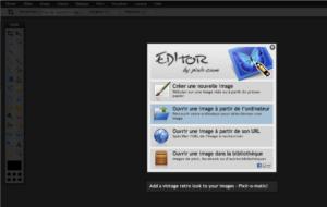 accueil pixlr/editor