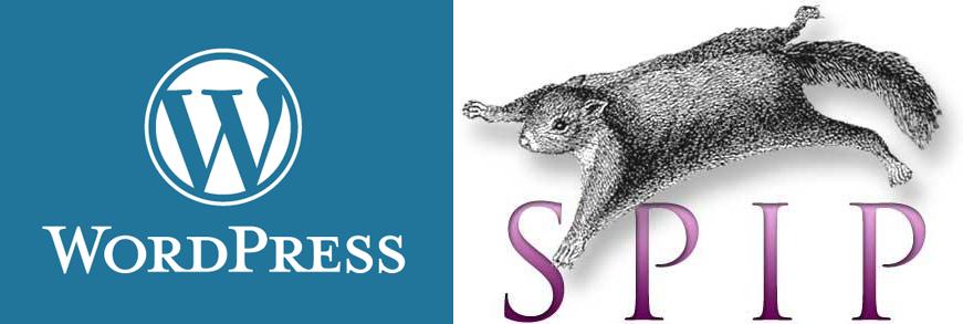 logos wordpress et spip